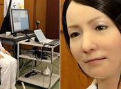 Homme Japonais inventé nouvelle femme robot Vidéo
