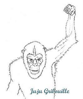 Petit crayonn de la plan te des singes paperblog - Singe a dessiner ...