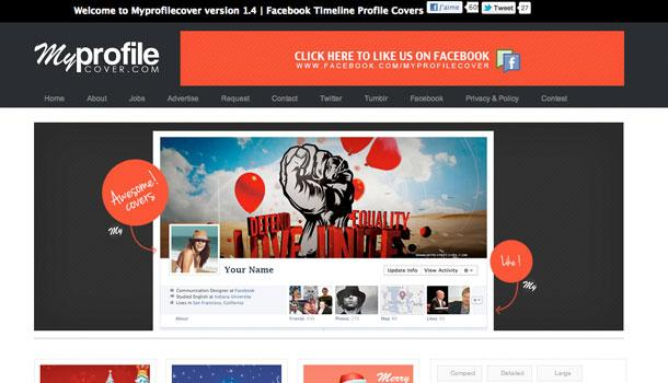 myprofilecover 5 sites pour une belle image de couverture Facebook