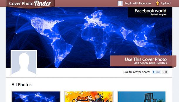 coverphotofinder 5 sites pour une belle image de couverture Facebook