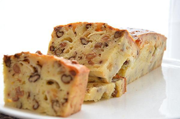 Recette Cake Chevre Raisins Noix