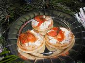 Ronde Inter Blog #24, toasts blinis fromage saumon