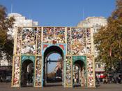 mètres cube d'ordure Marble Arch