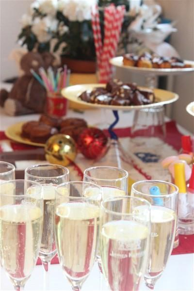 Décoration pour un gouter d'anniversaire ou comment tenter une sweet table!