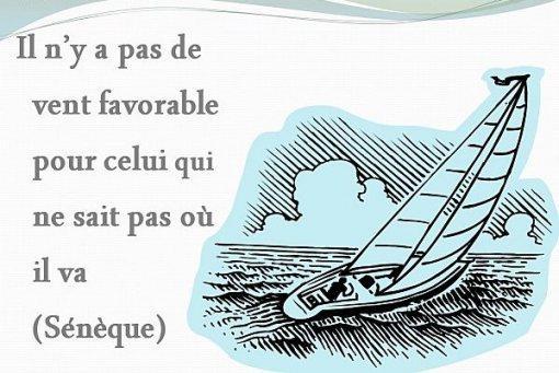 Voici une belle citation de Sénèque sur les objectifs dans la vie