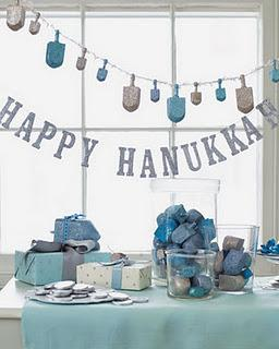 Happy hanouka joyeux no l ou comment occuper un peu for Decoration maison hanouka