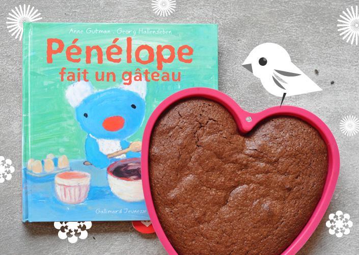 Le gâteau au chocolat de Pénélope
