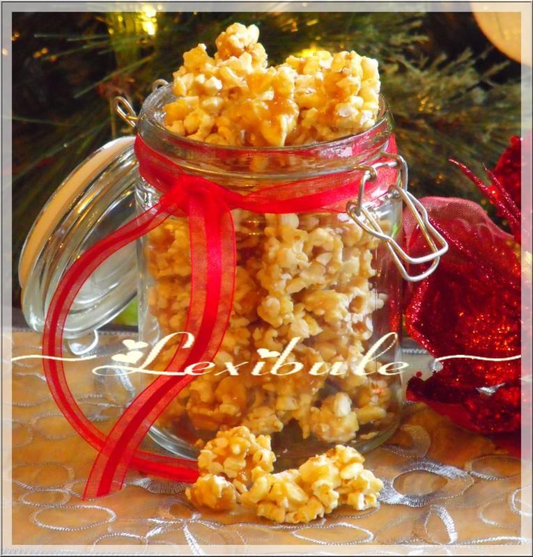 Pop corn au caramel paperblog - Faire du caramel maison ...