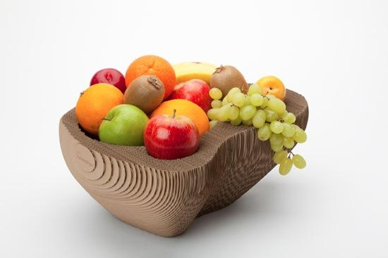 Une coupe fruits en carton par semdesign paperblog - Jeux ou on coupe des fruits ...
