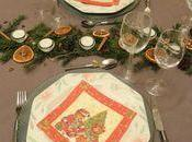 Table oranges sechees bâton cannelle badiane cocotte sapin