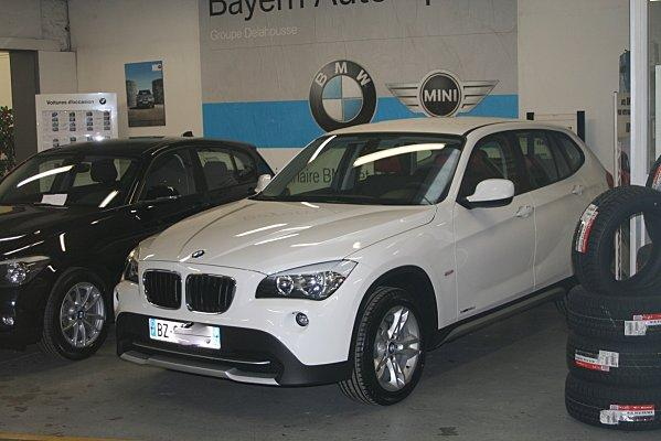 ma nouvelle voiture bmw x1 voir. Black Bedroom Furniture Sets. Home Design Ideas