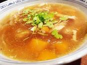 Bouillon poulet chinoise