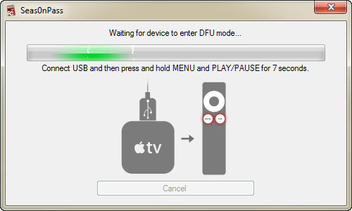 Tutoriel: Jailbreak untethered de l'Apple TV 2 en iOS 4.4.4 avec Seas0nPass