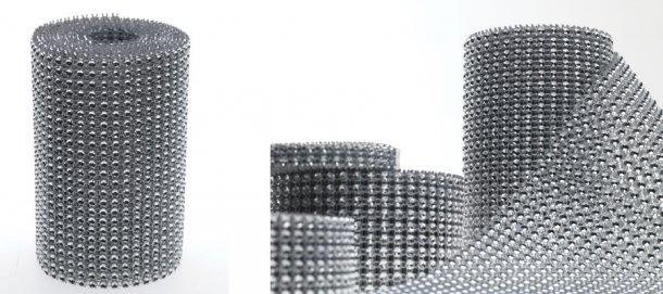 ruban de diamant pour une deco de table vip d couvrir. Black Bedroom Furniture Sets. Home Design Ideas