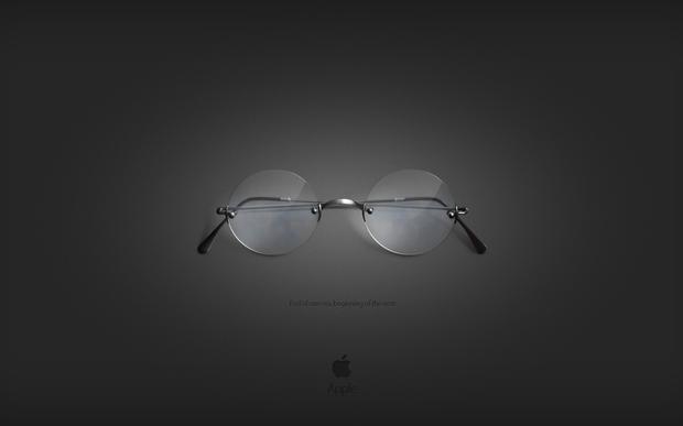 les lunettes de steve jobs en fond d 39 cran paperblog. Black Bedroom Furniture Sets. Home Design Ideas
