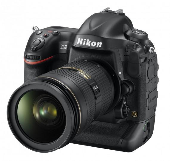 D4 24 70 front34l 570x540 Nikon D4 et son nouveau AF S 85mm F/1,8G