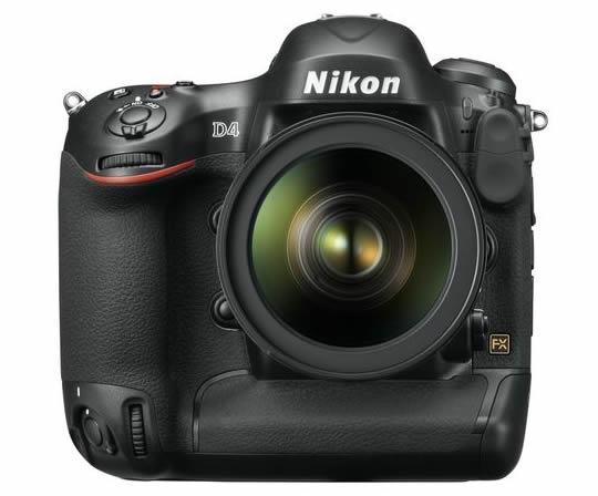 Nikon présente le D4