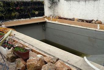 Piscine naturelle la zone de lagunage est pr te pour for Construction piscine zone naturelle