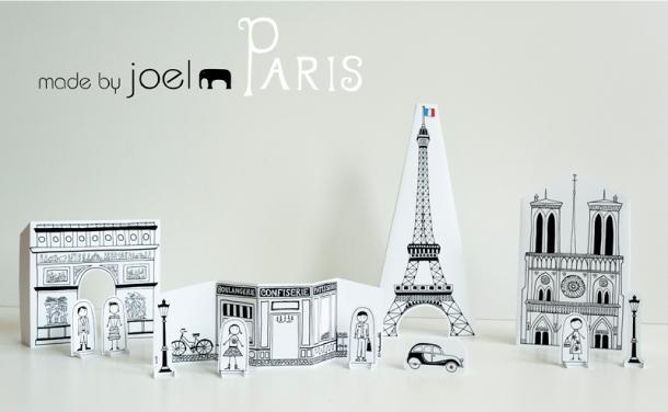 Paper city paris made by joel paperblog - Patron de maison en papier a imprimer ...
