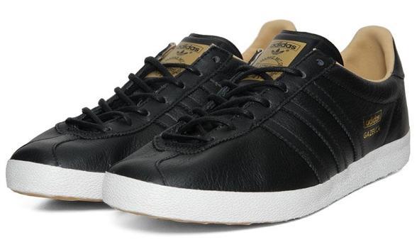 Adidas Gazelle Noire Cuir