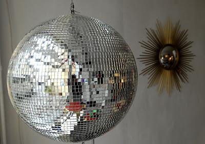 Boule facettes vintage voir - Fabriquer une boule a facette ...