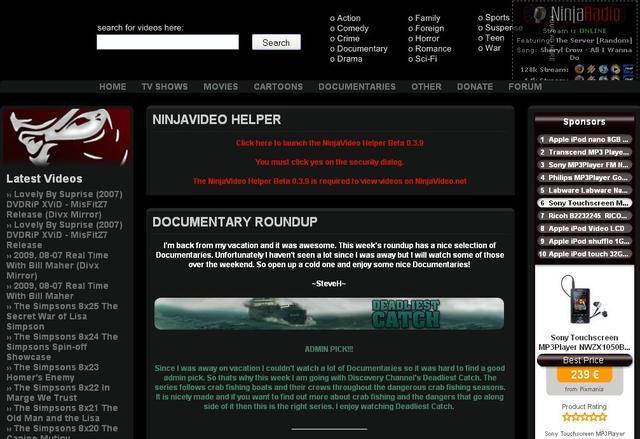 NinjaVidéo.net : peines de prison requises