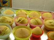 Muffins vanille pistache