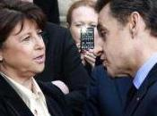 Accrochage entre Nicolas Sarkozy Martine Aubry