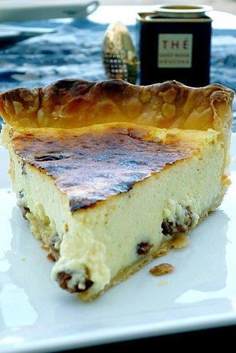 Vatrouchka ou cheesecake russe