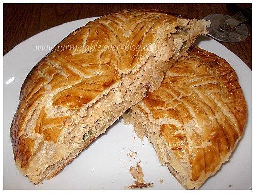 galette salée pour le tour en cuisine rapide #11 - paperblog