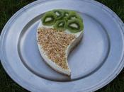 Entremet kiwi noix coco