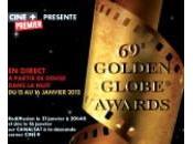 """Golden Globe awards, prix pour """"The Artist"""", meilleurs comédie, acteur, musique, Descendants""""!"""
