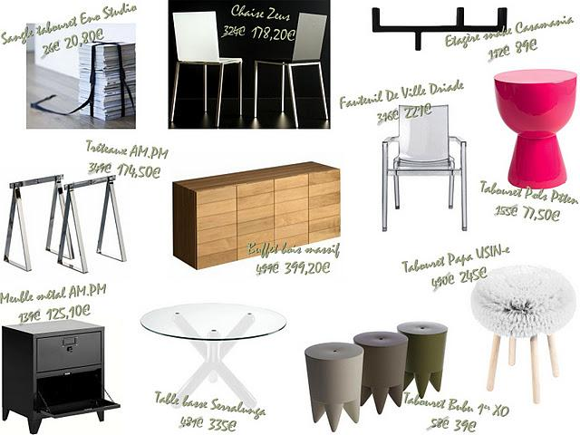 Soldes s lection meubles d couvrir for Meubles soldes