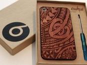 Remplacer plaque verre votre iPhone 4/4S bois...