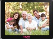 "TOOTI, tablette ""tactile-facile"" sens famille"