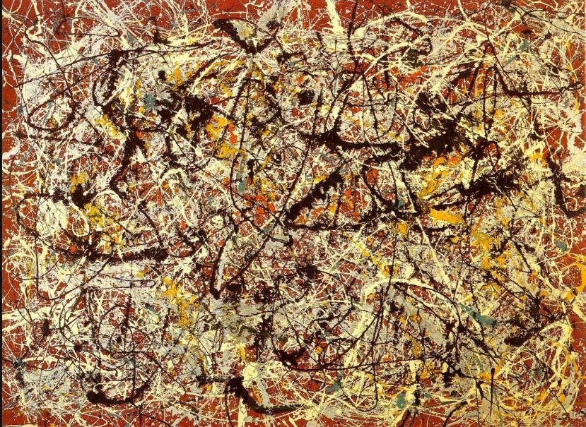 Jackson Pollock  Portrait and a Dream  1953  The Collection