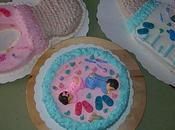 Gâteaux naissances: sucette/tétine/biberon/baby face