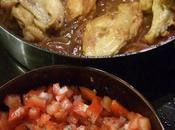 recette Epices jaunes Poulet malgache rougail tomates