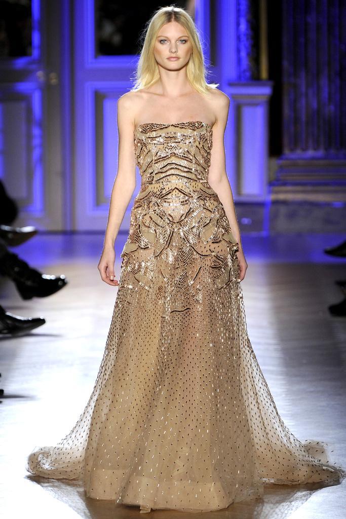 Robe de soiree haute couture italienne