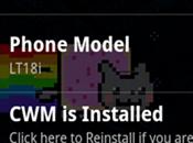 Flash ClockWorkMod Recovery Xperia Arc, Mini avec Auto-Instaler