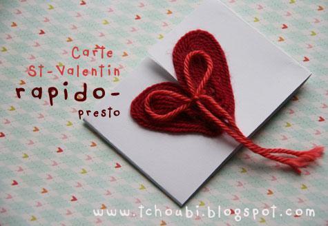 Id e pour une carte de la st valentin paperblog - Idee pour st valentin ...