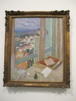 Bonnard et son double d couvrir for Pierre bonnard la fenetre
