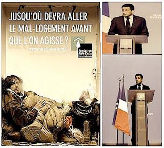 Sarkozy: le modèle social français est en péril à cause de lui.
