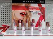 Nouveauté: Super Stay l'encre lèvre Gemey Maybelline!