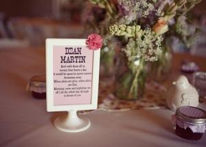 Des id es pour vos noms de table d couvrir - Idee de nom de table pour mariage ...
