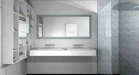 Salle de bain design marseille paperblog for Implantation salle de bain 8m2