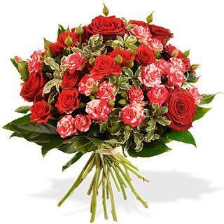 Bouquets st valentin interflora d claration et v nus for Gros bouquet de fleurs