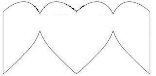 Id e bricolage menu en forme de coeur voir - Modele de coeur a decouper ...