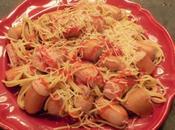 Pieuvres spaghetti