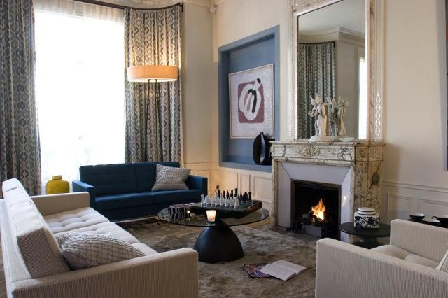 place de l alma appartement style ann es 60 voir. Black Bedroom Furniture Sets. Home Design Ideas